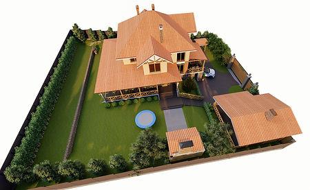 3Д проект жилого дома, архитектурный проект, Красноярск, Москва, Санкт-Петребург