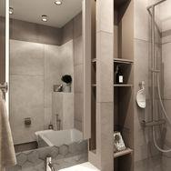 2 этаж.  Ванная. Вид 1
