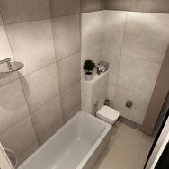 2 этаж.  Ванная. Вид 3
