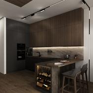 1 этаж.  Кухня. Вид 3