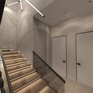 3 этаж.  Лестница и общее пространство. Вид 4