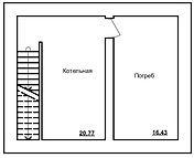 Индивидуальный жилой дом план