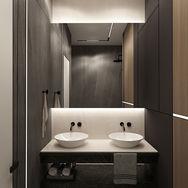 2 этаж.  Хозяйская спальня. Ванная. Вид 3