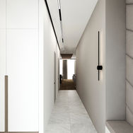 1 этаж.  Гардероб и вестибюль. Вид 4