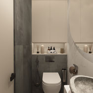 3 этаж.  Ванная и сауна. Вид 3