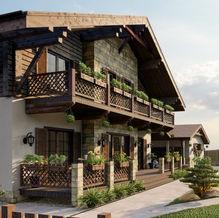 Концепция фасадов жилого дома