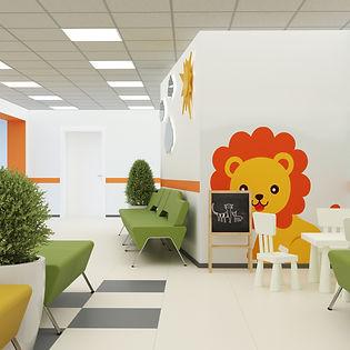 Дизайн детской поликлиники
