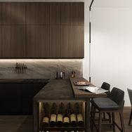 1 этаж.  Кухня. Вид 2
