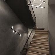 3 этаж.  Лестница и общее пространство. Вид 1