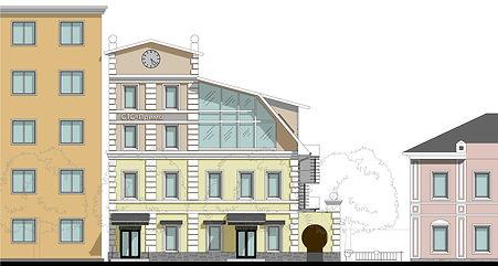 Дизайн проект фасадов