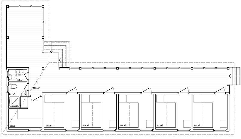 """База отдыха """"Мореход""""  Разработка домов, благоустройства и общей концепции план"""