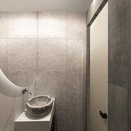 3 этаж.  Ванная и сауна. Вид 6