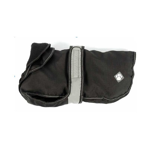 "Black 2 in 1 Ultimate Dog Coat 40cm (16"")"