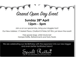 We're expanding- come to our Open Day Event