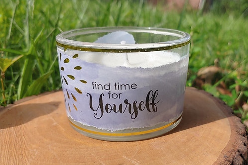 Find Time For Yourself Candle