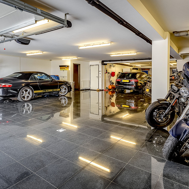 Ample parking space inside