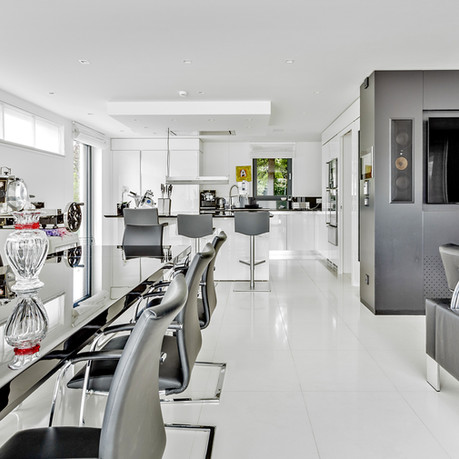Ample space for entertaining