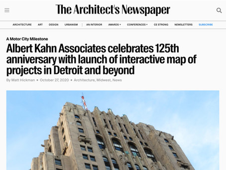 The Architect's Newspaper: Albert Kahn Associates celebrates 125th anniversary