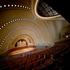 UofM Hill Auditorium Interior Second flo