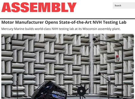 Assembly Magazine: Albert Kahn designed state-of-the-art NVH testing lab