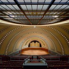 UofM Hill Auditorium Interior Ceiling vi
