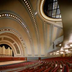 UofM Hill Auditorium Interior First floo