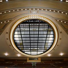UofM Hill Auditorium Interior On stage l