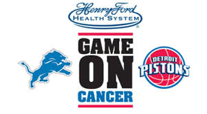 "Albert Kahn and Henry Ford Health Systems team up to say ""GAME ON"" CANCER!"