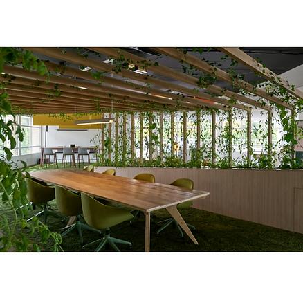 Table réunion bois Upcyclé Stam - Atelier Extramuros