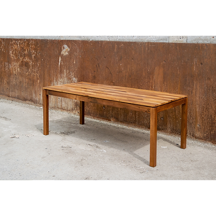 Table bois design Upcyclé - Atelier Extramuros