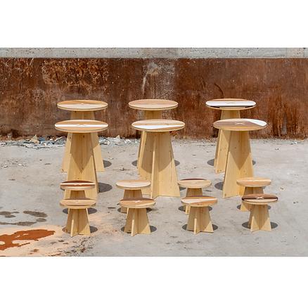 Meubles bois Upcyclé ASWO- Atelier Extramuros