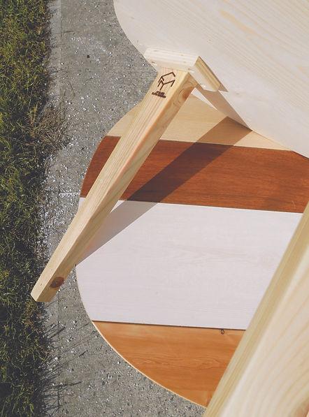 Tables basses bois Upcyclé Quatorze - Atelier Extramuros