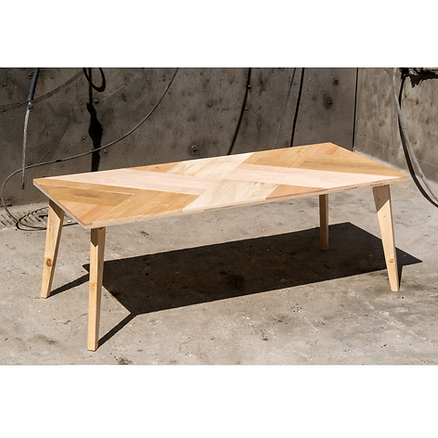 Table bois design Upcyclé - Atelier Extramuros