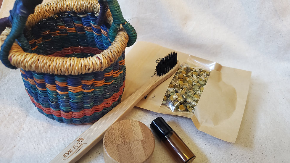 Miniature Bolga Basket Gift Set