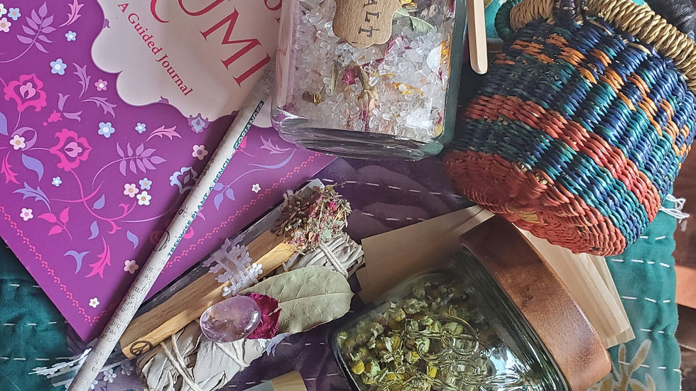 Mind Body and Spirt giftset