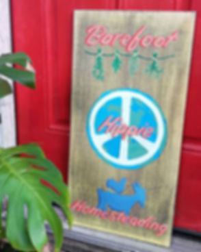 Thank you _signsbybonita ✌_#barefoothipp