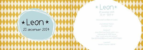 Je vindt hier een retro geboortekaartje met licht blauwe sterretjes en oranje ruitjes op de achtergrond. Zomers, circus kaartje. Grote versie.