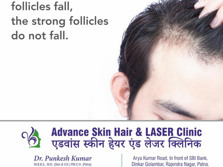 Role of Non Androgenetic factors in hair fall