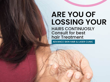 what causes hair loss??