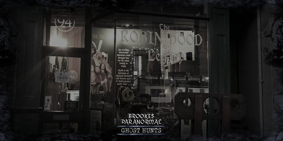 The Robin Hood Experience Ghost Hunt