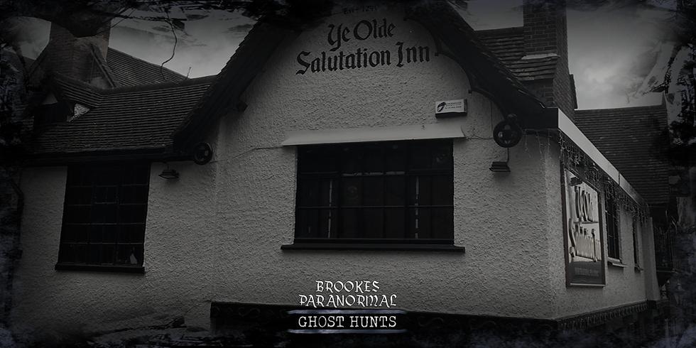 Ye Olde Salutation Inn Caves Ghost Hunt