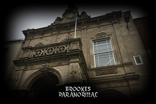 Ashbourne Town Hall Ghost Hunt - Saturday 28th August 2021