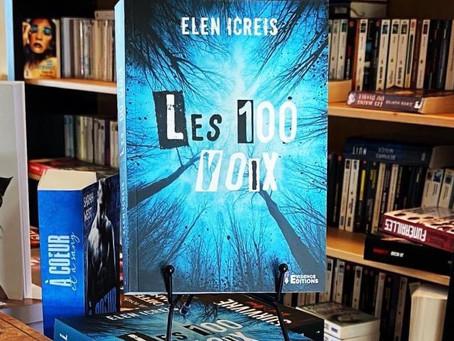 Chronique : «les 100 voix» de Elen Icreis