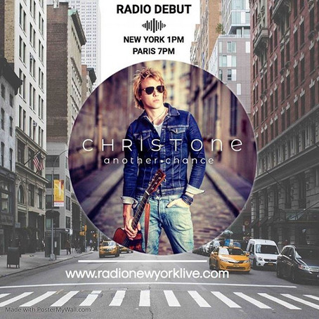 New single 'Another chance' radio debut in NYC