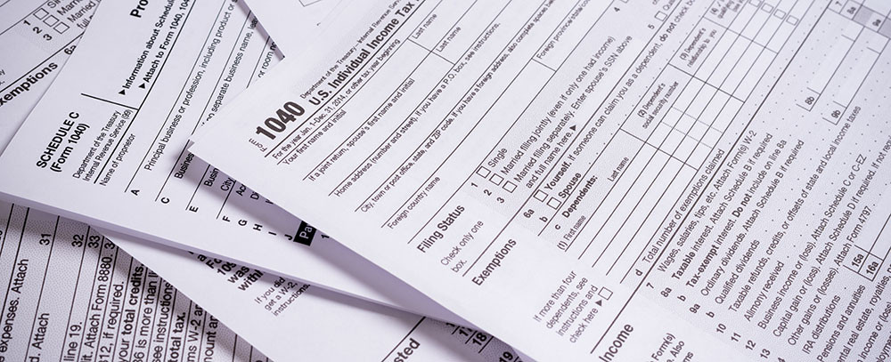 IRS tax applications and transcripts