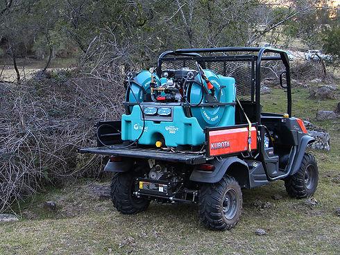 Weed Spraying Units (UTV Mounted and Bac