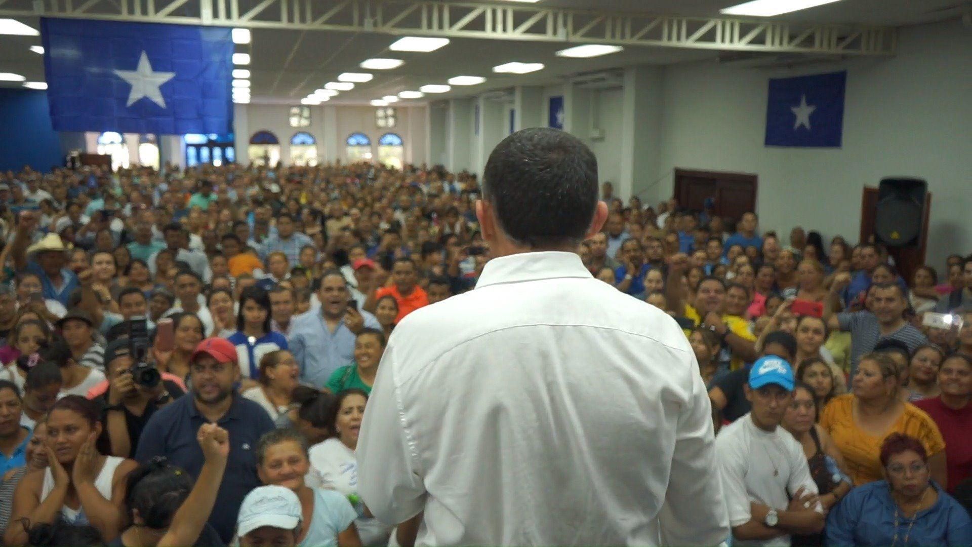 Mario Pineda Comité Central del Partido Nacional