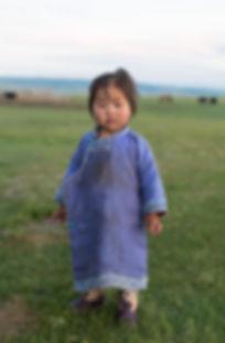Mongolie - Petite fille nomade / Mongolia - Nomadic little girl