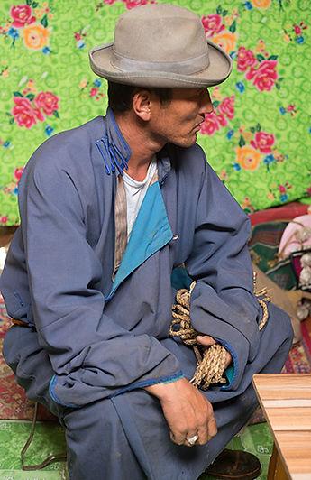 Mongolie - Homme Nomade / Mongolia - Nomadic man