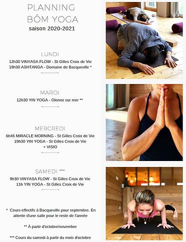 Planning bom yoga gwendoline aliaume yog